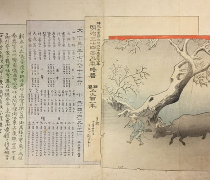 Meiji-period New Year's Greeting Card